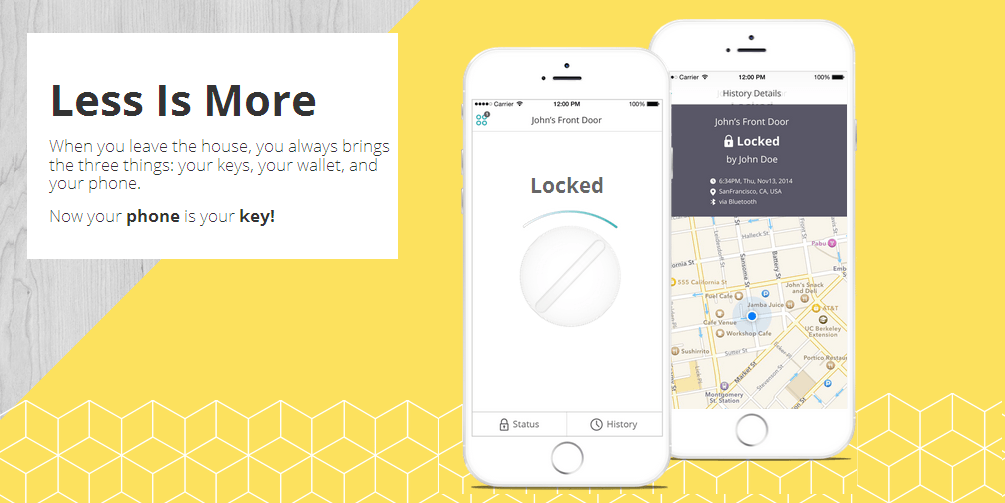 Sesame - Replaces Your Keys With Your Phone In Seconds