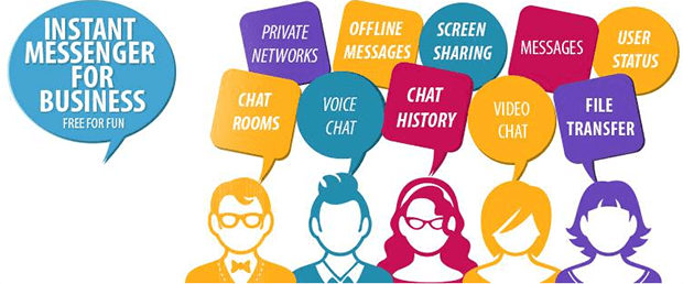 Instant Messaging And Texting : Brosix highly secure enterprise instant messaging app