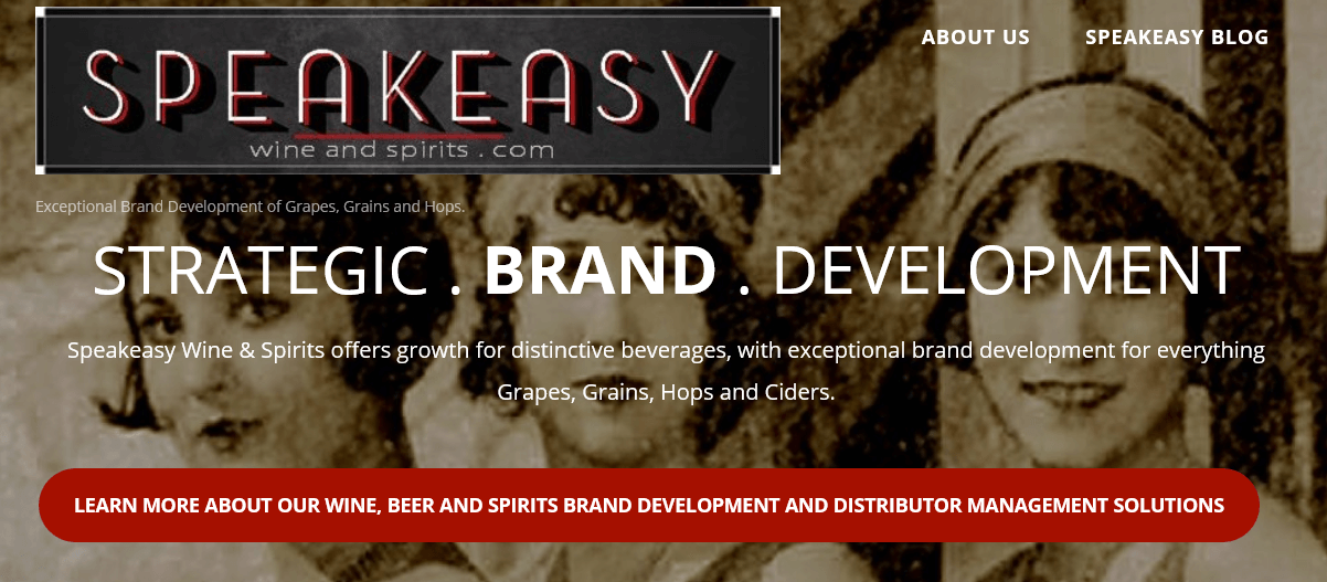 "Speakeasy Wine & Spirits, ""When You Want The World To Know Your Brand!"""