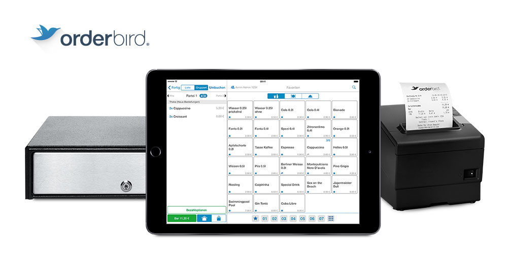 No.1 iPad POS system for the catering industry | orderbird