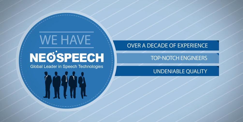 Neospeech Addresses The Limitation Of The Text-To-Speech Technology