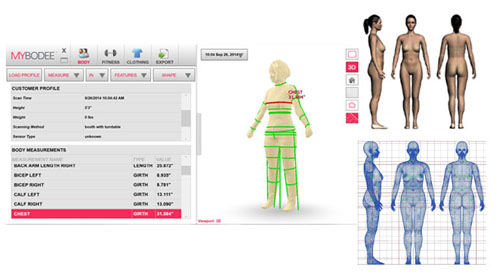3d Body Measurements – HD Wallpapers