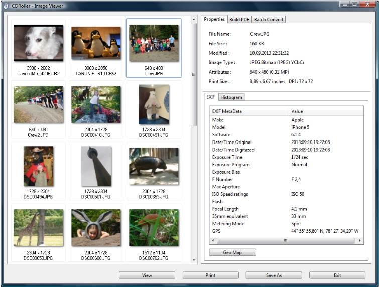 CDRoller Returned Images