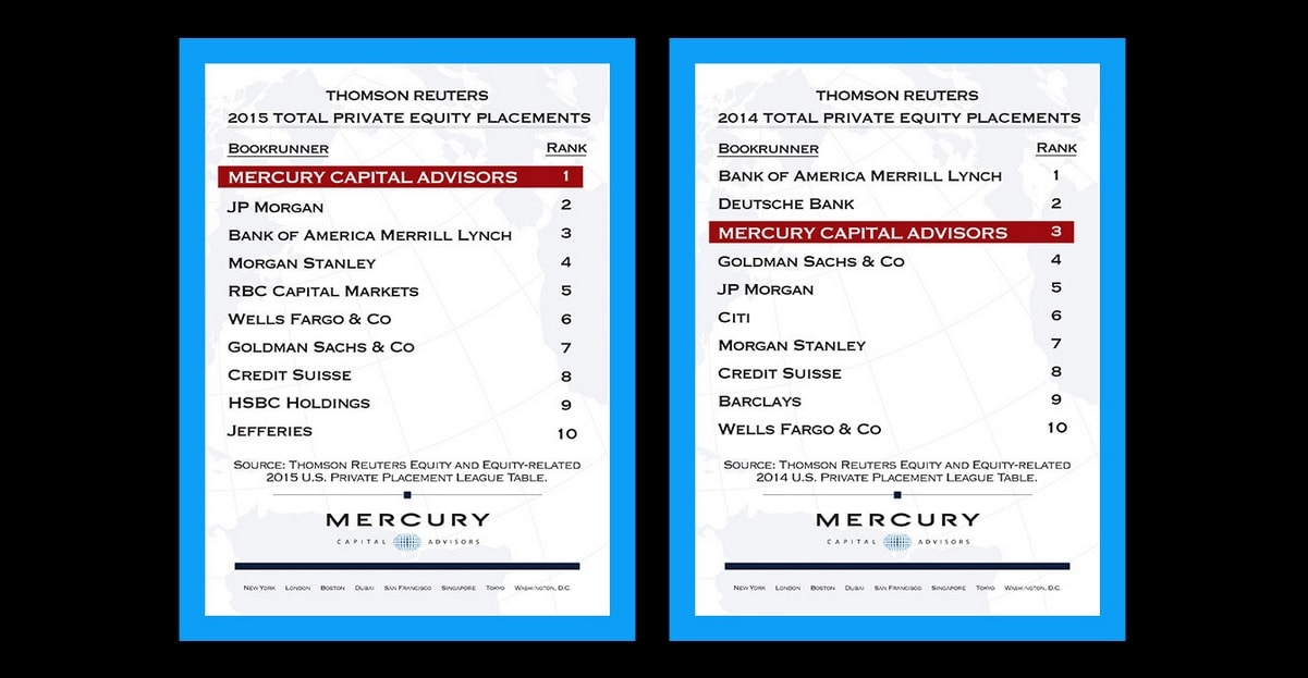 Mercury Capital Advisors Launches A State Of The Art, End To End