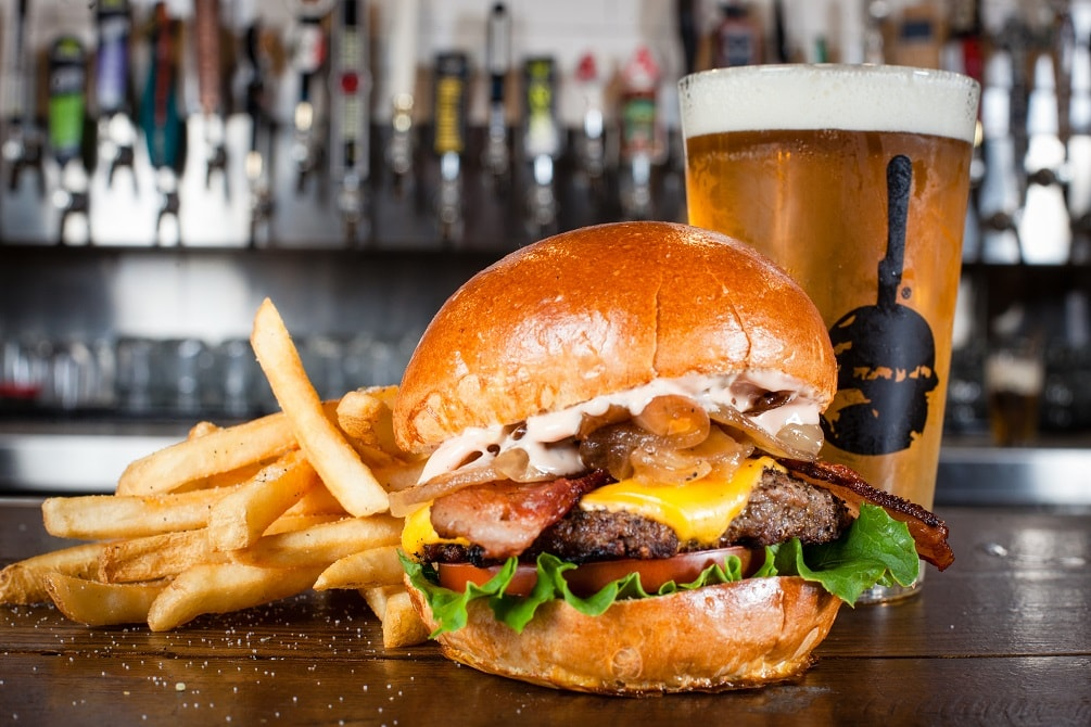 Slater's 5050 Burger And Beer