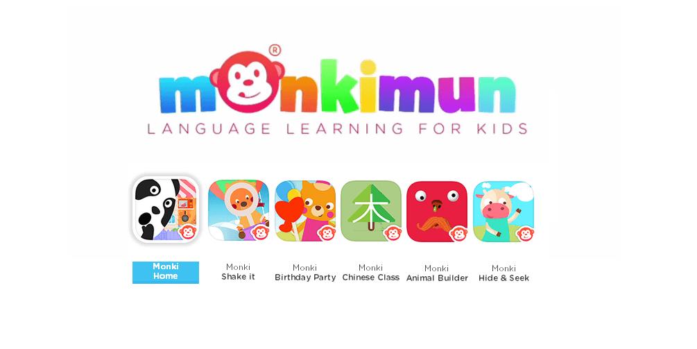 Monkimun, Games to Teach Languages to Children