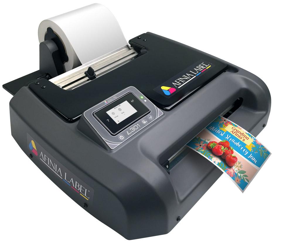 Color printer label - Durafast_l301