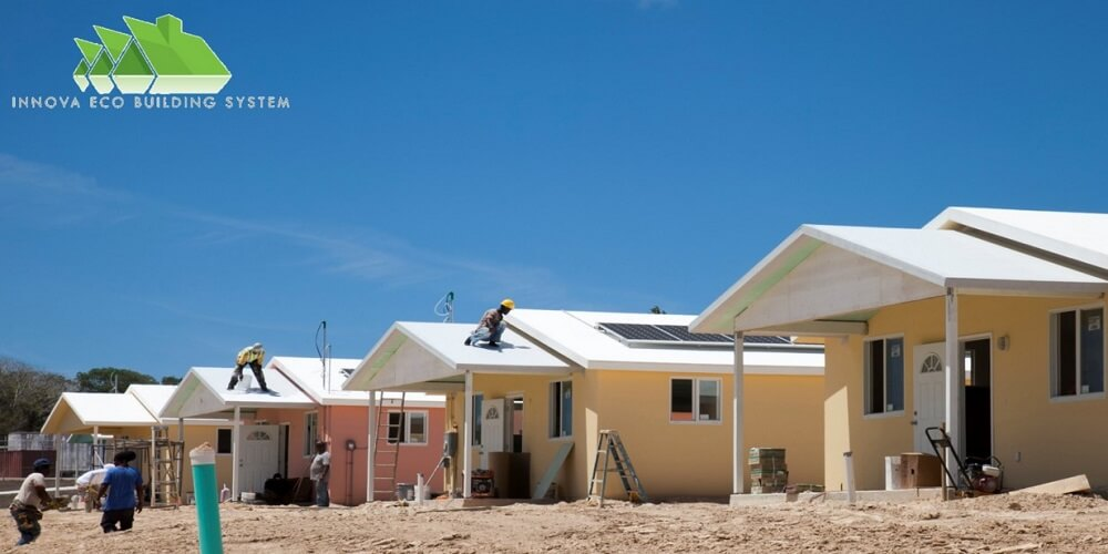 Innova eco building system vision is to expand its for Sip houses usa