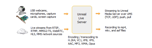 Unreal Media Server Software Suite Provides Full